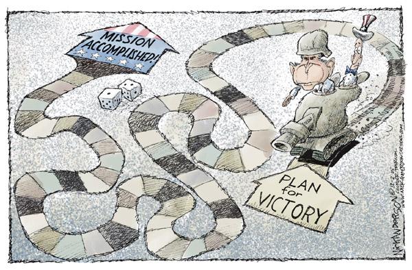 Cartoonist Nick Anderson  Nick Anderson's Editorial Cartoons 2005-12-02 tank