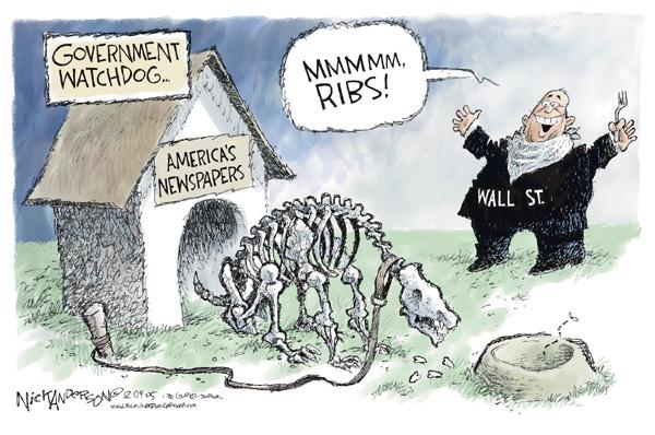 Cartoonist Nick Anderson  Nick Anderson's Editorial Cartoons 2005-12-12 business
