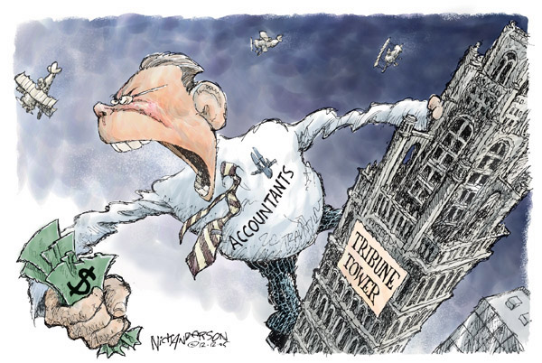 Cartoonist Nick Anderson  Nick Anderson's Editorial Cartoons 2005-12-12 Chicago