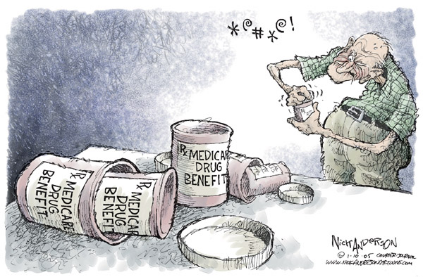 Cartoonist Nick Anderson  Nick Anderson's Editorial Cartoons 2006-01-10 health care industry