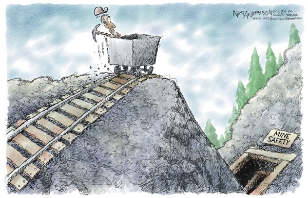 Cartoonist Nick Anderson  Nick Anderson's Editorial Cartoons 2006-01-26 accident