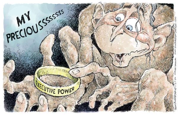 Cartoonist Nick Anderson  Nick Anderson's Editorial Cartoons 2006-01-27 executive privilege