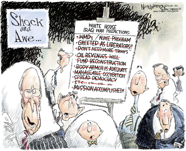 Cartoonist Nick Anderson  Nick Anderson's Editorial Cartoons 2006-03-21 Donald
