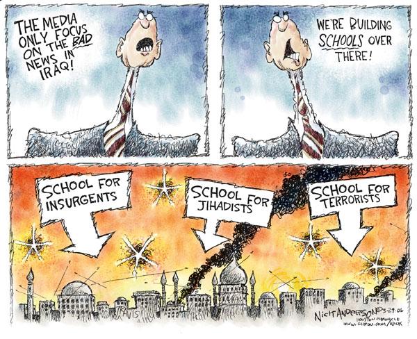 Nick Anderson  Nick Anderson's Editorial Cartoons 2006-03-29 school