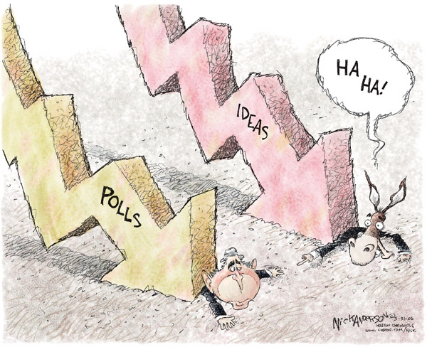 Cartoonist Nick Anderson  Nick Anderson's Editorial Cartoons 2006-03-31 political party