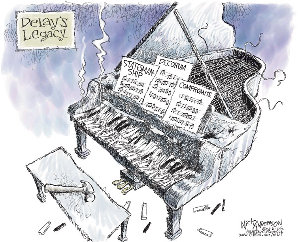 Cartoonist Nick Anderson  Nick Anderson's Editorial Cartoons 2006-04-06 compromise