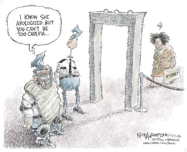Cartoonist Nick Anderson  Nick Anderson's Editorial Cartoons 2006-04-07 hill