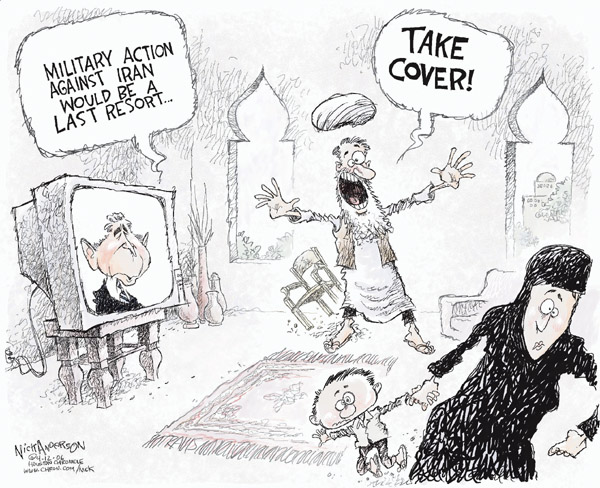 Cartoonist Nick Anderson  Nick Anderson's Editorial Cartoons 2006-04-12 nuclear power
