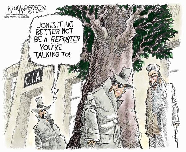 Cartoonist Nick Anderson  Nick Anderson's Editorial Cartoons 2006-04-25 CIA