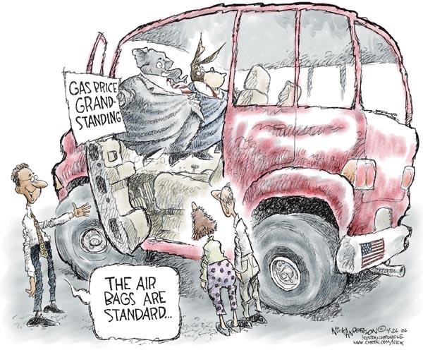 Nick Anderson  Nick Anderson's Editorial Cartoons 2006-04-26 democrat