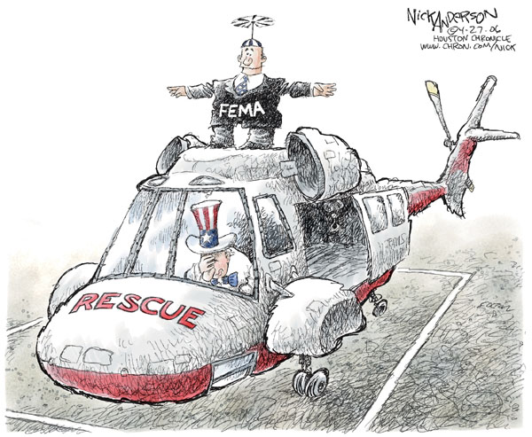 Cartoonist Nick Anderson  Nick Anderson's Editorial Cartoons 2006-04-28 criticize