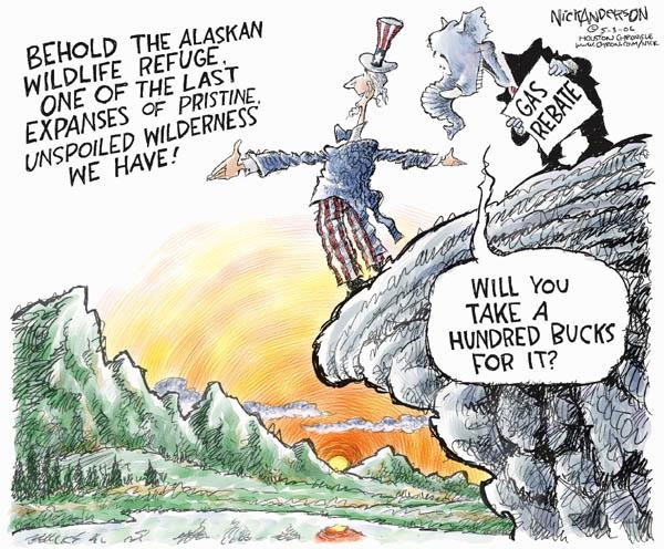 Cartoonist Nick Anderson  Nick Anderson's Editorial Cartoons 2006-05-03 national