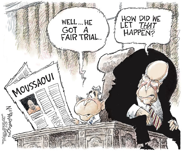 Cartoonist Nick Anderson  Nick Anderson's Editorial Cartoons 2006-05-05 Al Qaeda