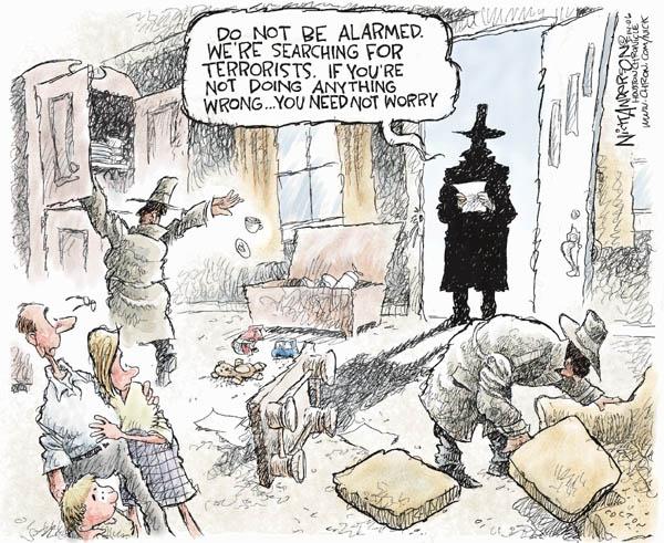 Cartoonist Nick Anderson  Nick Anderson's Editorial Cartoons 2006-05-14 separation of powers