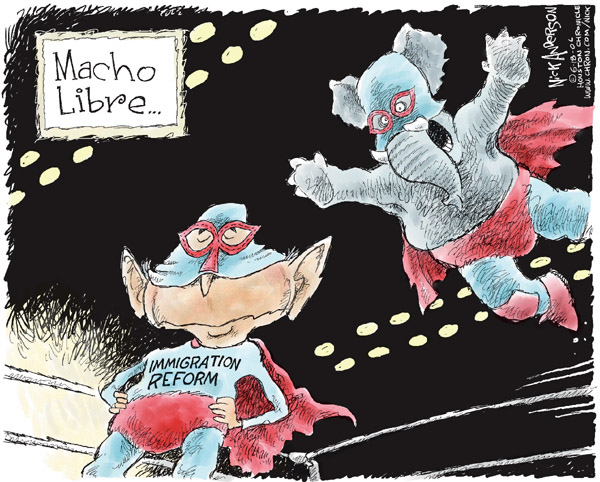 Cartoonist Nick Anderson  Nick Anderson's Editorial Cartoons 2006-06-18 political party