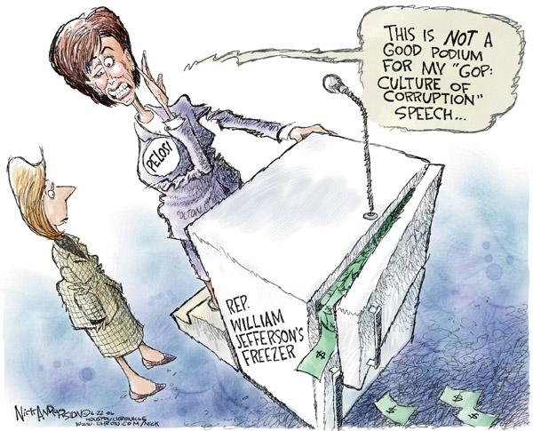 Nick Anderson  Nick Anderson's Editorial Cartoons 2006-06-22 democrat
