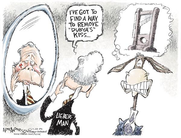 Nick Anderson  Nick Anderson's Editorial Cartoons 2006-07-28 democrat