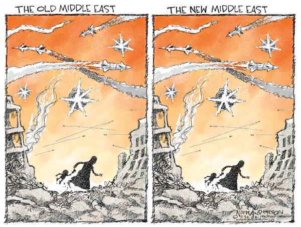Cartoonist Nick Anderson  Nick Anderson's Editorial Cartoons 2006-07-30 middle