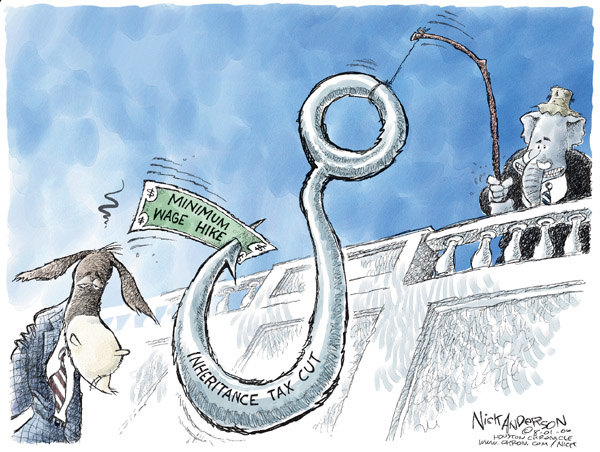 Nick Anderson  Nick Anderson's Editorial Cartoons 2006-08-01 democrat