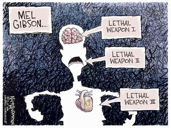 Cartoonist Nick Anderson  Nick Anderson's Editorial Cartoons 2006-08-02 lethal