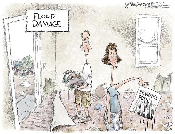 Cartoonist Nick Anderson  Nick Anderson's Editorial Cartoons 2006-08-17 disaster