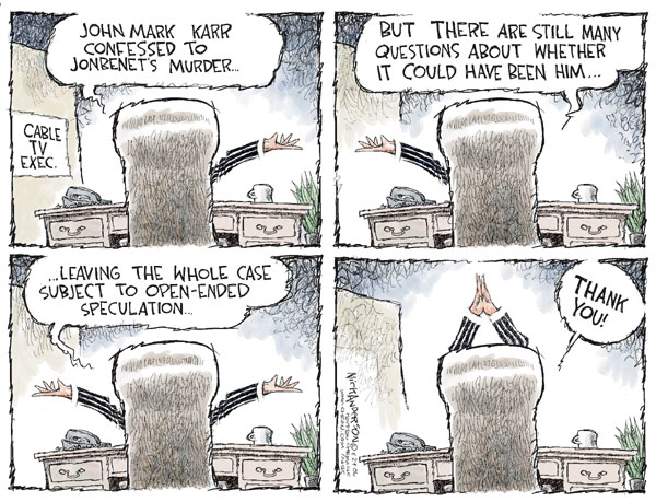 Cartoonist Nick Anderson  Nick Anderson's Editorial Cartoons 2006-08-24 cable news