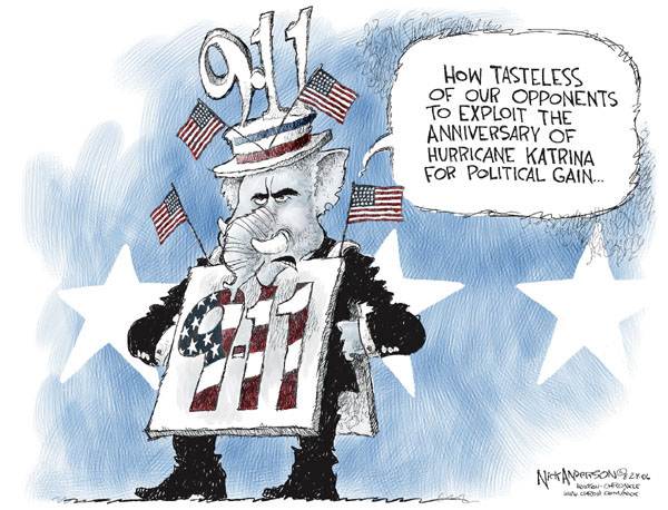 Cartoonist Nick Anderson  Nick Anderson's Editorial Cartoons 2006-08-29 gain