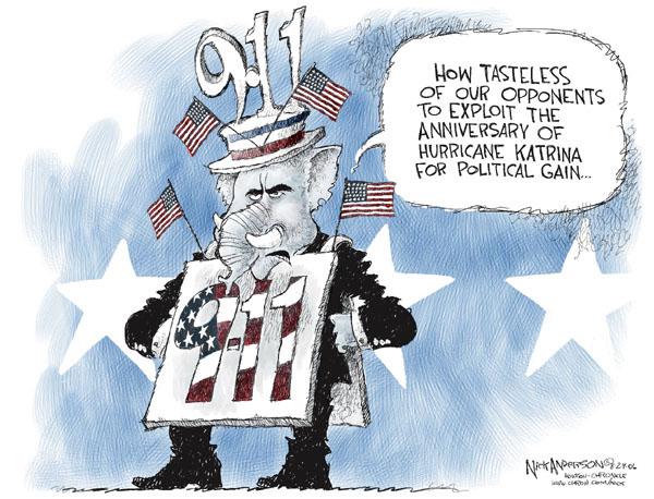 Nick Anderson  Nick Anderson's Editorial Cartoons 2006-08-29 partisan politics