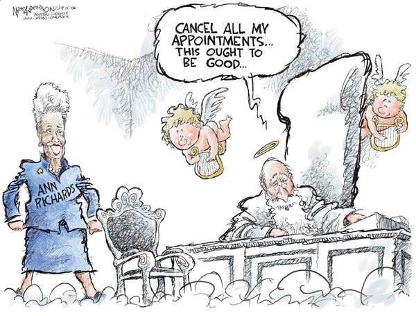 Cartoonist Nick Anderson  Nick Anderson's Editorial Cartoons 2006-09-15 Richard
