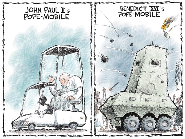 Cartoonist Nick Anderson  Nick Anderson's Editorial Cartoons 2006-09-19 Catholicism