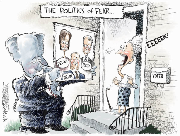 Nick Anderson  Nick Anderson's Editorial Cartoons 2006-09-21 house majority leader