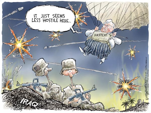 Cartoonist Nick Anderson  Nick Anderson's Editorial Cartoons 2006-10-06 bullet