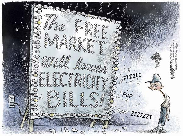 Cartoonist Nick Anderson  Nick Anderson's Editorial Cartoons 2006-10-17 demand