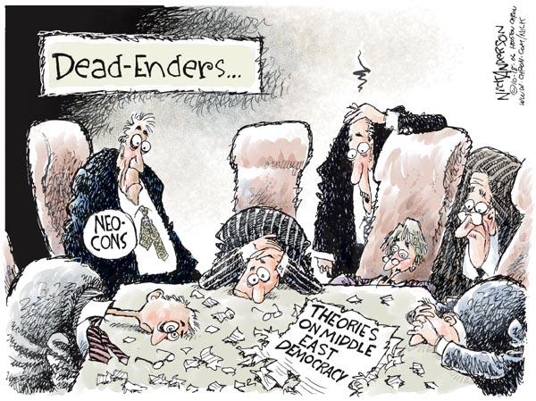 Cartoonist Nick Anderson  Nick Anderson's Editorial Cartoons 2006-10-18 Iraq insurgency