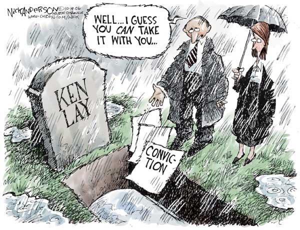 Nick Anderson  Nick Anderson's Editorial Cartoons 2006-10-19 conspiracy