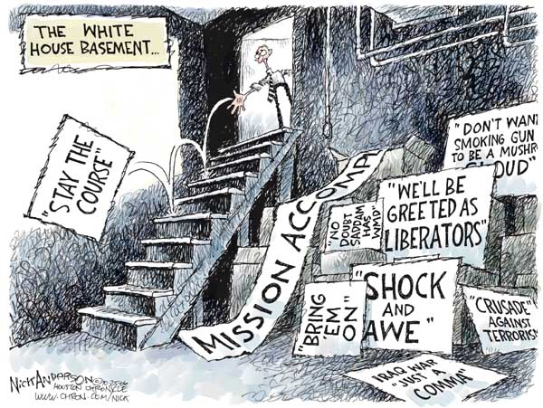 Cartoonist Nick Anderson  Nick Anderson's Editorial Cartoons 2006-10-25 Donald