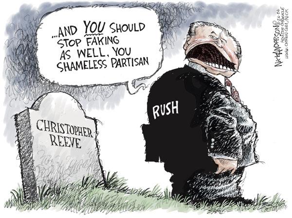Cartoonist Nick Anderson  Nick Anderson's Editorial Cartoons 2006-10-26 rush