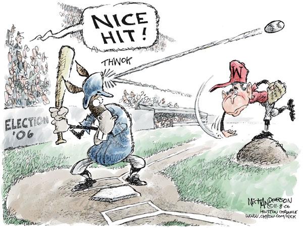 Nick Anderson  Nick Anderson's Editorial Cartoons 2006-11-08 democrat