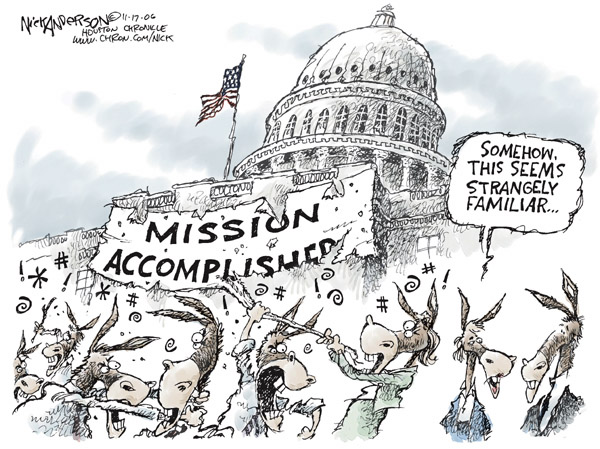 Cartoonist Nick Anderson  Nick Anderson's Editorial Cartoons 2006-11-17 hill