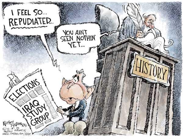 Cartoonist Nick Anderson  Nick Anderson's Editorial Cartoons 2006-12-08 renounce