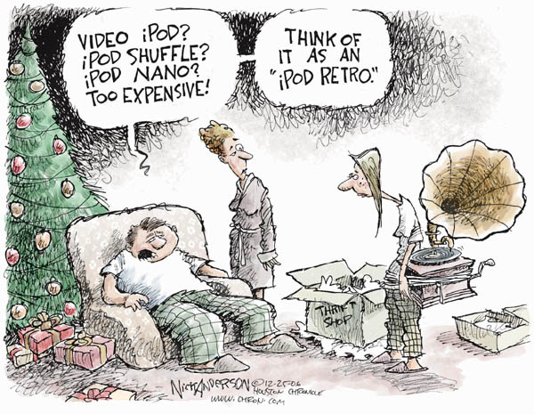 Nick Anderson  Nick Anderson's Editorial Cartoons 2006-12-25 device