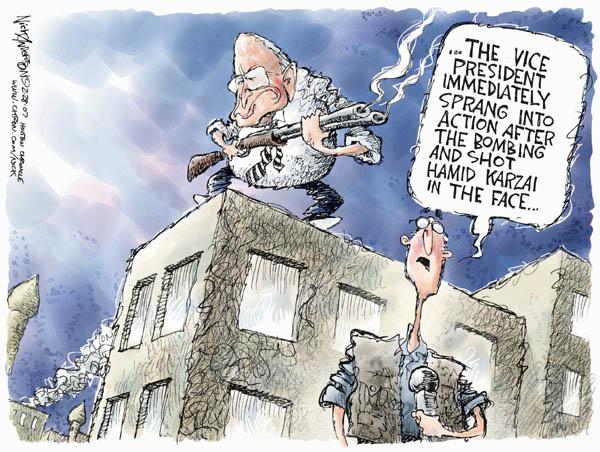 Cartoonist Nick Anderson  Nick Anderson's Editorial Cartoons 2007-02-28 bombing