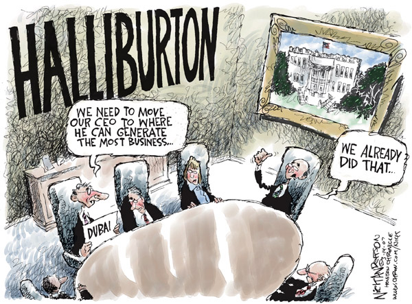 Cartoonist Nick Anderson  Nick Anderson's Editorial Cartoons 2007-03-14 Dick