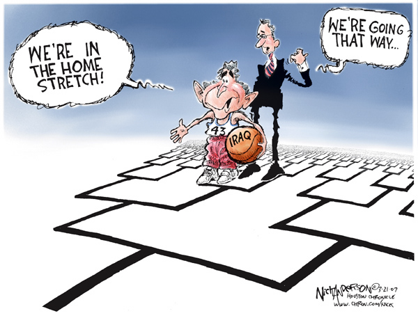 Cartoonist Nick Anderson  Nick Anderson's Editorial Cartoons 2007-03-21 college sports