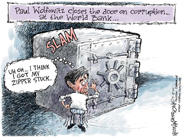 Nick Anderson  Nick Anderson's Editorial Cartoons 2007-04-15 development