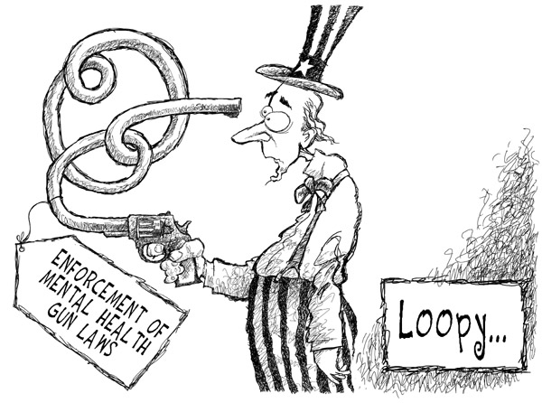 Cartoonist Nick Anderson  Nick Anderson's Editorial Cartoons 2007-04-26 background check