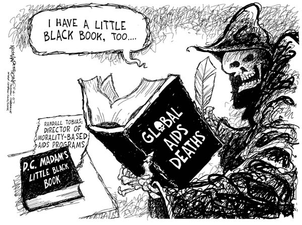 Cartoonist Nick Anderson  Nick Anderson's Editorial Cartoons 2007-05-06 morality