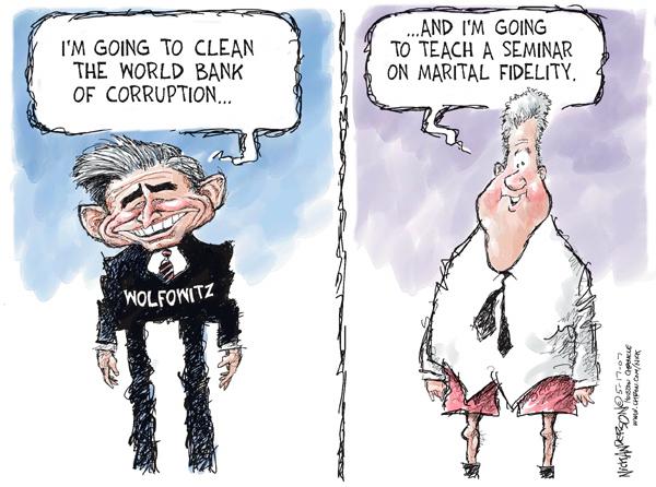 Nick Anderson  Nick Anderson's Editorial Cartoons 2007-05-17 corruption