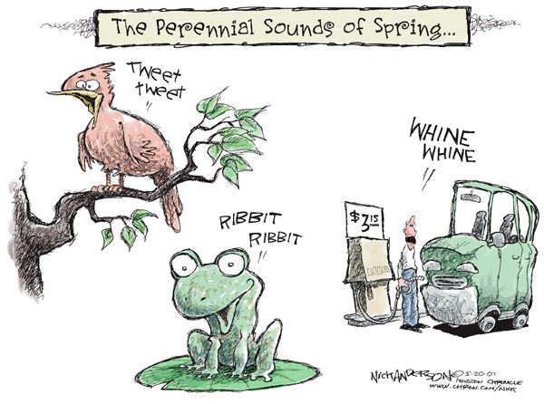 Nick Anderson  Nick Anderson's Editorial Cartoons 2007-05-20 whine