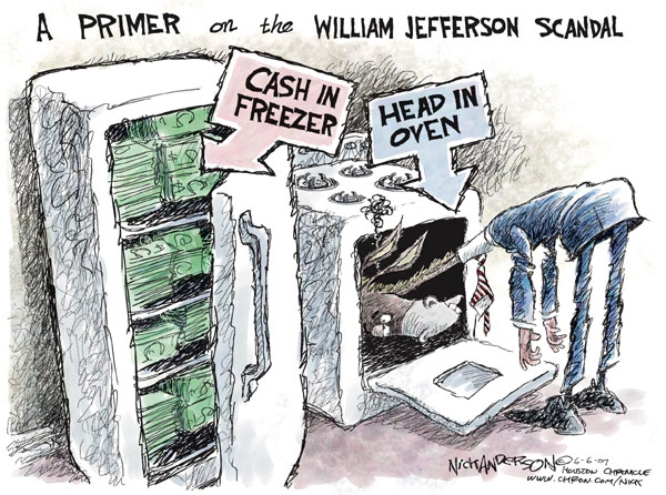 Nick Anderson  Nick Anderson's Editorial Cartoons 2007-06-06 congressional scandal